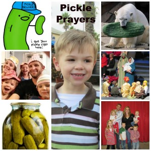 Jesse and his Suits family love pickles!